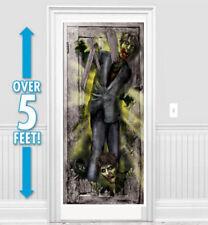 Fête de Halloween Zombie Porte Bannière Décoration Fête Affiche de Porte