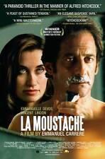 THE MOUSTACHE Movie POSTER 27x40 Vincent Lindon Emmanuelle Devos Mathieu Amalric