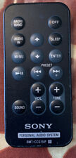 Genuine Sony RMT-CCS15iP Remote Control For Personal Audio System.