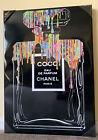 Oliver Gal 20x28 COCO Chanel Canvas Wall Art Print home decor CHANEL No. 5
