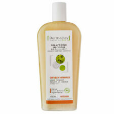 Dermaclay - Shampoing Bio Capilargil Cheveux normaux Argile blanche 400ml