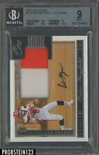 2018 Panini One Baker Mayfield RPA RC Rookie Patch AUTO 150/199 BGS 9