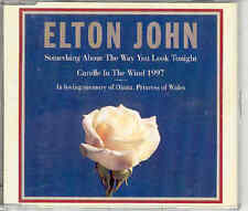 Elton John Something About / Candle In The Wind CDS 97