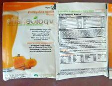 2 Shakeology Lot Vegan PUMPKIN SPICE Single Serve Packets Beachbody Exp 8/2020