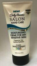 Sally Hansen Moisturizing Creme for Dry Sensitive Skin Salon Hand care 4.5 oz