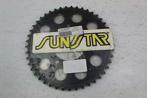 Sunstar - 2-438345 - Steel Rear Sprocket, 45T 525 SUZUKI *