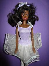 B629-lesly coloreada Black Brown my first AA Barbie bailarina mattel 1992
