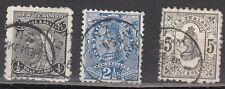 New Zealand Scott 67A-69 Used (Catalog Value $30.25)