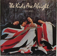 THE WHO Album Cover Clock!-Makes a great gift---Free shipping!!