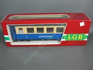 LGB G Scale 3164 Austria Zillertalbahn 2nd Class European Coach Passenger Car NR
