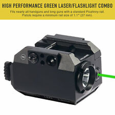 Green Laser Sight and Led Tactical Flashlight for Rifles Pistols & Airsoft Guns