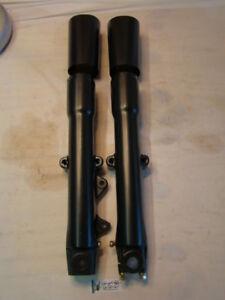 Harley powdercoated FLST Fatboy Heritage Softail fork legs 1999 down EPS14658