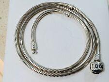 Authentic Pandora Silver Necklace 45cm length Excellent Condition