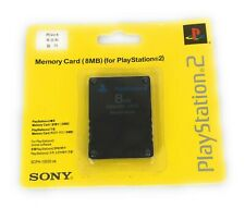 8MB Memory Card For Playstation 2 Brand New Factory Sealed Original Sony LG QTY