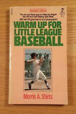Warm Up For Little League Baseball -Big League Tips Photos (1977 Paperback Book)