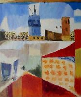 Quality Hand Painted Oil Painting Repro Paul Klee Tunisreise 20x24in