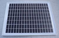 10W MONOCRYSTALINE SOLAR PANEL 24V CHARGER 10 WATT 24 volt suit lorry horsebox