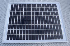 10W MONOCRYSTALINE SOLAR PANEL 24V CHARGER 10 WATT 24 volt suit lorry horsebox