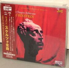 XRCD JMXR 24009: The CHOPIN Scherzos - Rubinstein - OOP 2003 Japan OBI SEALED