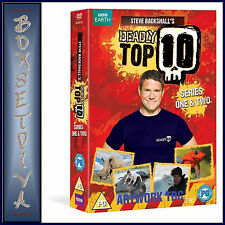 DEADLY TOP TEN - COMPLETE SERIES 1 & 2  **BRAND NEW  DVD BOXSET**