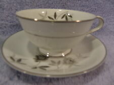 "Noritake Rosamor #5851 (8) Cups 2 1/4"" and (8) Saucers 5 3/4"""