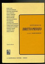 AA/VV - Bessone # ISTITUZIONI DI DIRITTO PRIVATO # Giappichelli Editore 1997