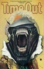 Alien poster  : 1979 London Time Out Alien Cover Poster : Alien movie poster