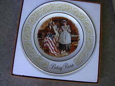 """1973 Betsy Ross Americana Decorative 9""""Plate Avon By Enoch Wedgewood Wedgewood"""