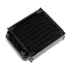 80mm Aluminum computer radiator water cooling cooler for CPU heatsink PC
