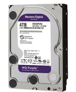 Western Digital Purple 4 TB,Internal,5400 RPM,3.5 inch (WD40PURZ) Hard Drive