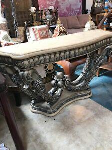 Unique Wood Console Table