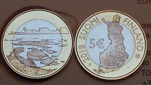 5 euro 2018 FINLANDIA Suomi Finland Finnland FINLANDE Saaristomeri Финляндия