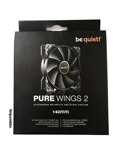 be quiet! Pure Wings 2, 3 Pin 140 mm and 1000 rpm Case Fan Cooling Device