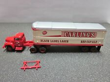 HO Classic Metal Works - Mini Metals 32' Aero Van Trailer Set - Carling's Lager