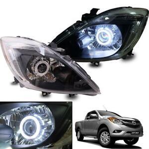 2012+ Fit Mazda BT-50 BT50 Pickup Ute Facelift Projector Head Lamp Lights Pair