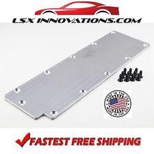 LS Gen4 Valley Cover Plate Billet Aluminum  L99 LS3 DOD Delete Lifter Pan