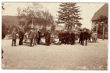 Übung ROTES KREUZ / RED CROSS Exercise * Foto-AK um 1915 ?