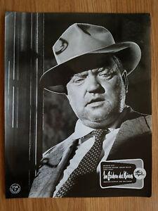 IM ZEICHEN DES BÖSEN Portrait Aushangfoto ORSON WELLES 1958 lobby card FILM NOIR
