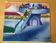 Disney , Snow White , Dopey, Production Cel 1980'S Hand Painted