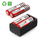 4 x ULTRAFIRE 4000mAh 18650 Battery 3.7v Li-ion Rechargeable Battery + Charger