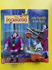 Disney Pocahontas John Ratcliffe Action Figure MOC