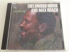 European Tour by Max Roach Thelonious Monk Cd Denon Records Near New Japan