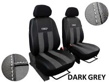 VW CRAFTER 2012 2013 2012 2015 2016 ECO LEATHER & ALICANTE TAILORED SEAT COVERS