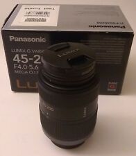 Panasonic Lumix G Vario MEGA OIS Objektiv 45-200mm F4-5.6 Micro 3/4 H-FS045200 neuwertig