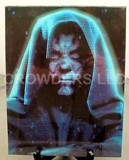 "Star Wars EP1 Phantom Menace 11""x14"" Hologram Darth Maul Poster #183-005 1999"