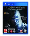 Middle-Earth: Shadow of Mordor GOTY (PS4) BRAND NEW SEALED