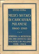 CIMA Otto, Mezzo secolo di caricatura milanese 1860-1910