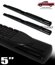"""For 2002-2009 Ram Quad Cab 5"""" Oval Hd Black Side Step Nerf Bars Running Boards"""