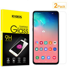 2-Pack Khaos For Samsung Galaxy S10 Lite HD Tempered Glass Screen Protector