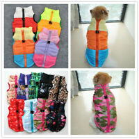 Small Pet Dog Cat Winter Warm Down Coat Pet Puppy Jacket Clothes Apparel Costume